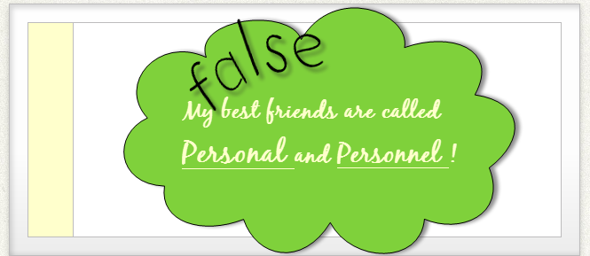 Best buddies or false friends?