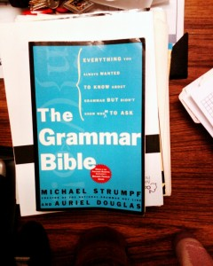 common grammar errors