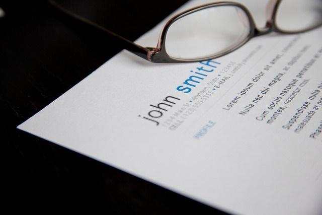 write a resume
