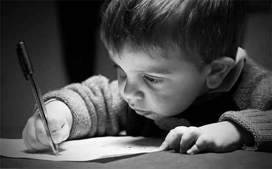 how to help your child write