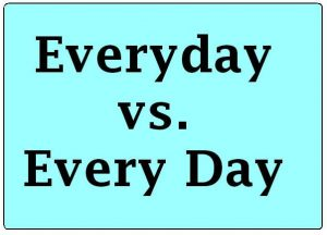 Everyday vs. Every Day Grammar Rule - Online Spellcheck