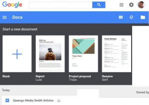 Google Docs - Tools for becoming a better writer