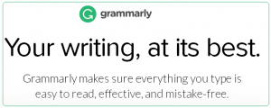 Grammarly tool for being a better writer