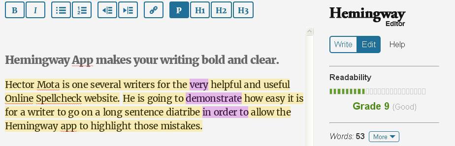 Better writing app