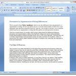 Persuasive vs. Argumentative Writing Differences