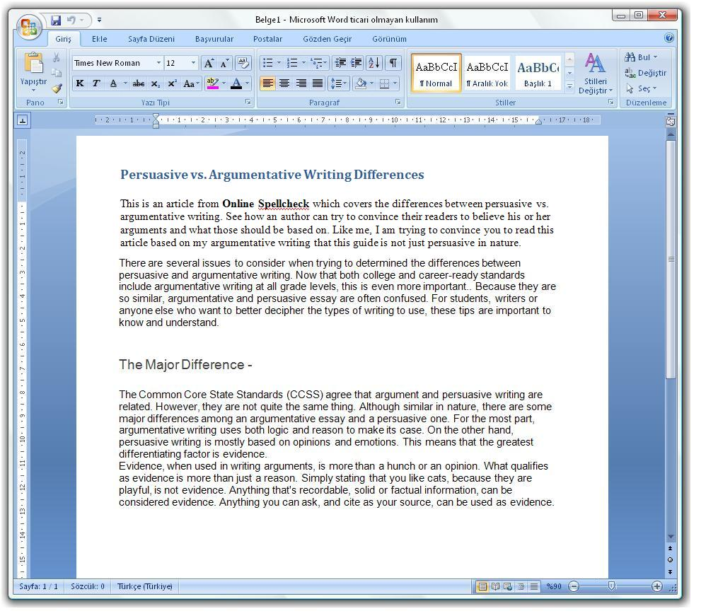 argumentative vs expository essay Techniques: 1 offers facts, reasons, and evidence to show the author has valid points 2 logic-based 3 acknowledges the opposing claims 4 may compare ideas to establish a position 5 presents multiple sides but it is clear which is the author's side 6 always provides evidence with claims tone: the tone is.