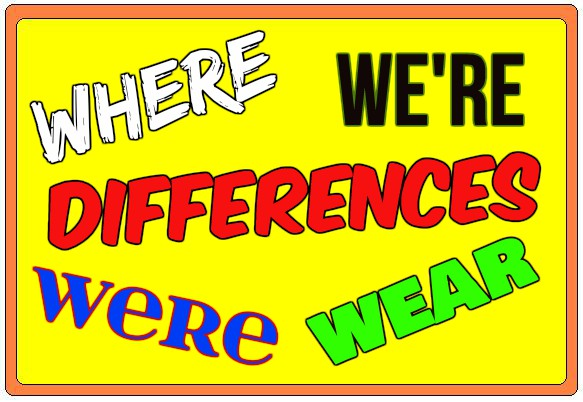 Differences Between Where vs. Were, Wear And We're