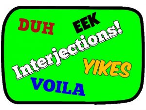 All About Interjections With Examples List