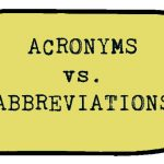 All You Need To Know About Acronyms