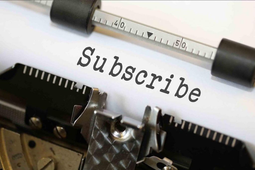 Better call-to-action will lead to more subscribers