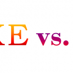 What is the difference between the word like and as
